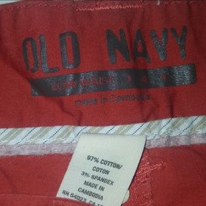 Old Navy Bottoms - Old Navy Cargo Shorts Orange/Red Size 4 (P03-16)